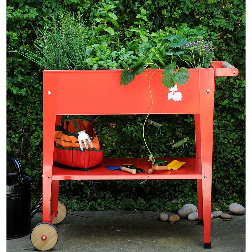 herstera urban garden trolley garden seeds canada With katzennetz balkon mit herstera garden
